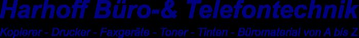 Harhoff Büro-& Telefontechnik